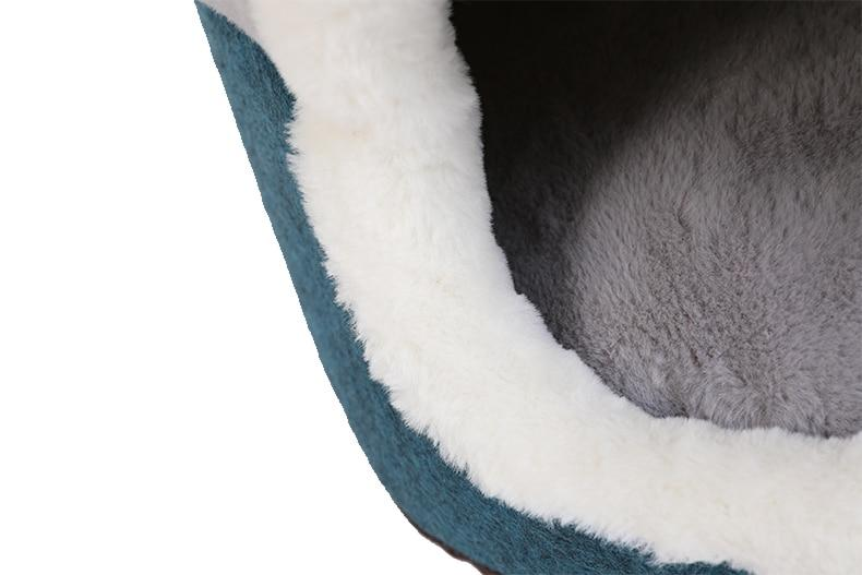 Cats Soft Plush Kennel Bed