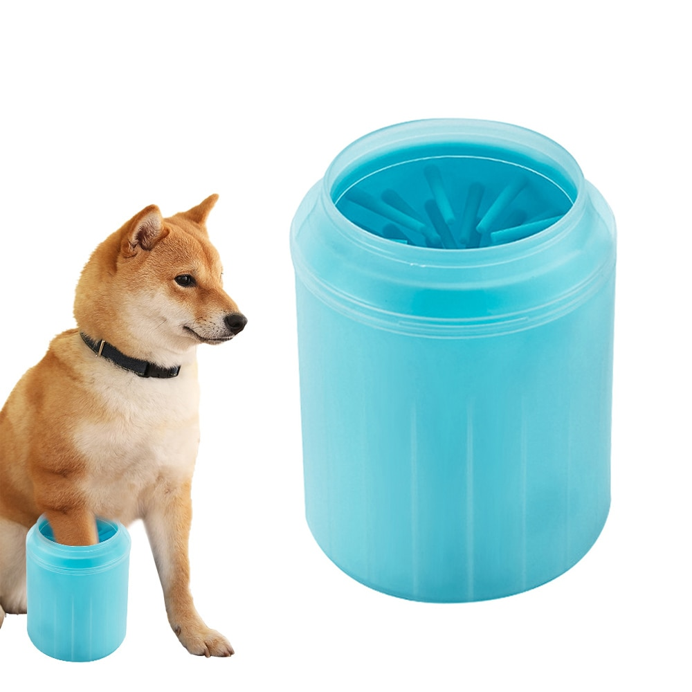 Silicone Dog Paw Cleaning Cup