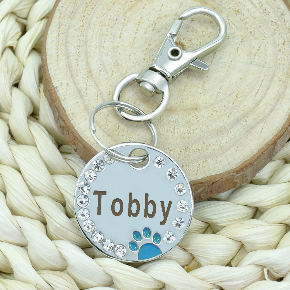 Custom Engraved Stainless Steel Dog Tag