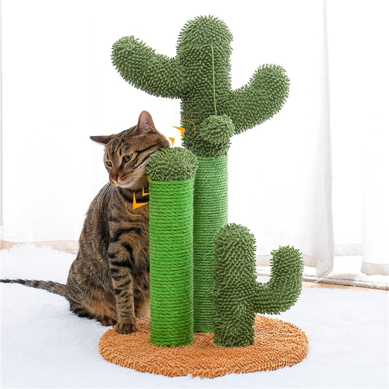 Cactus Shaped Cat Scratching Post