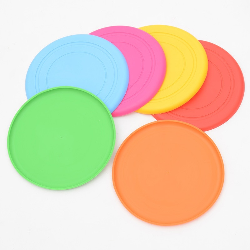 Dog's Silicone Flying Disc
