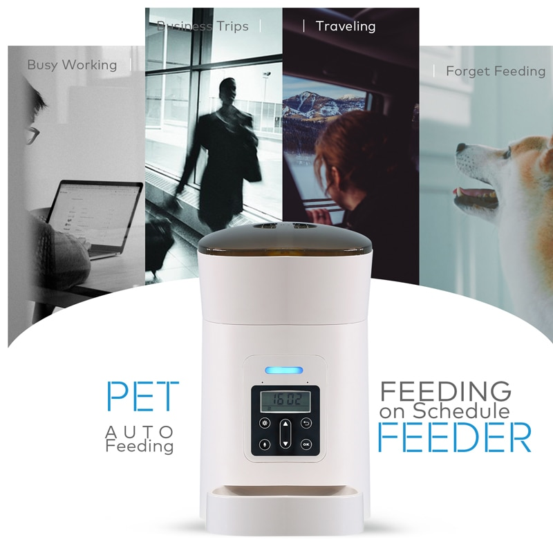 Smart Automatic Feeder for Cats and Dogs
