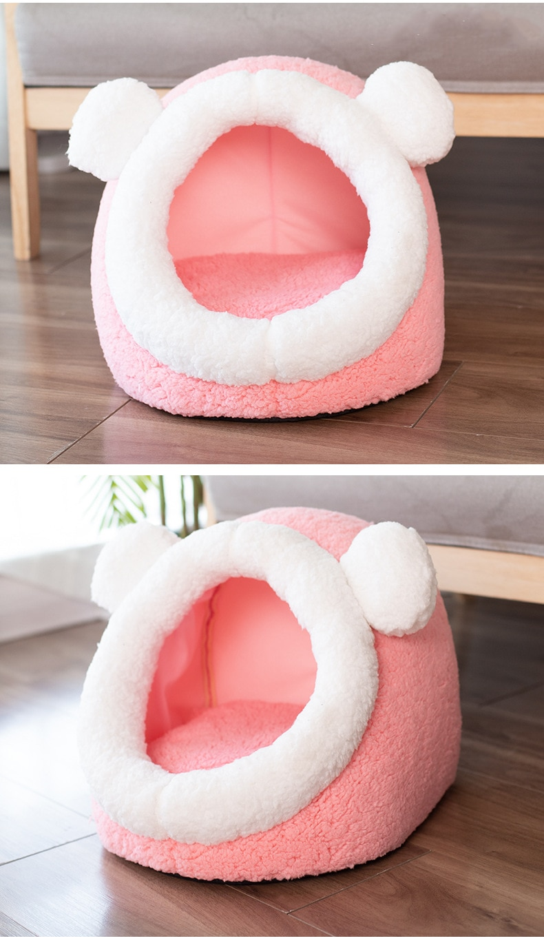 Warm Soft Cats Bed